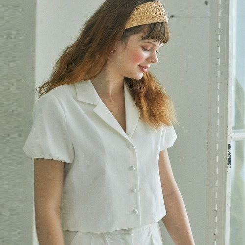 LU TWO PIECES SHIRT (WHITE)