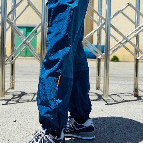 COLORATED JOGGER PANTS_NAVY