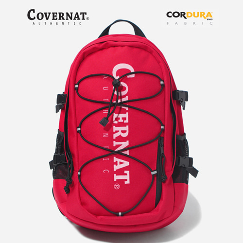 CORDURA AUTHENTIC LOGO RUCK SACK RED