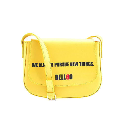 BELLBO 벨보(BELLEBEAU) - ROUND CROSS BAG YELLOW