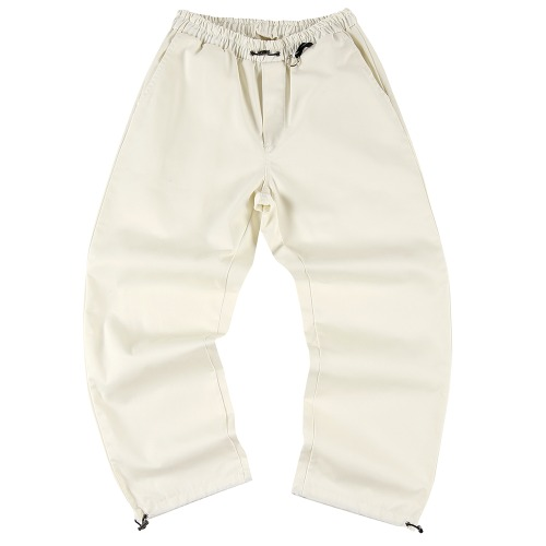 string wide pants (FU-212) - OFFWHITE