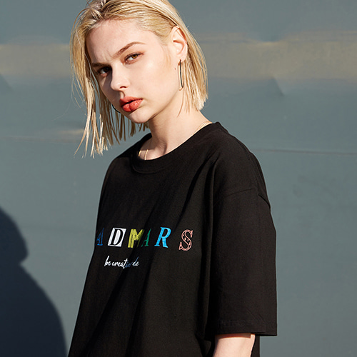 COLOR LOGO T-SHIRTS_BLACK
