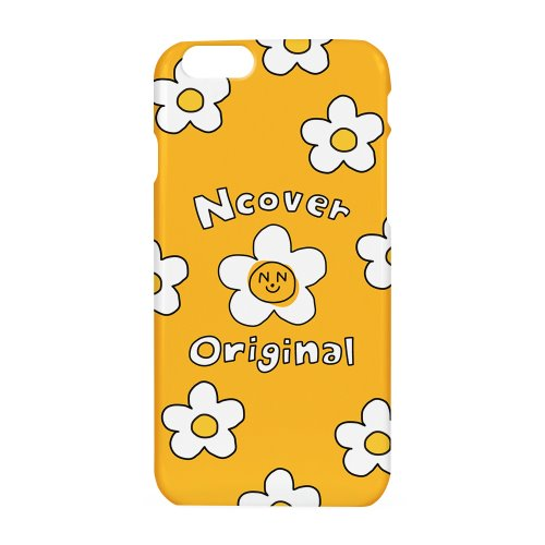Smile flower case-yellow