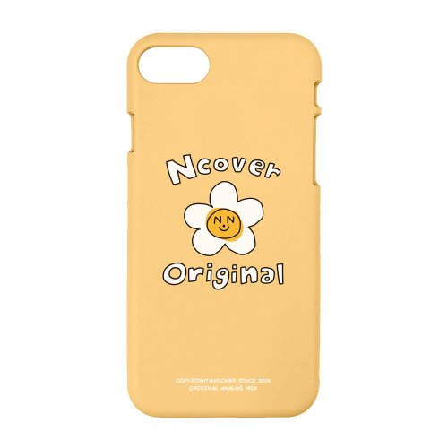 Flower graphic-yellow(color jelly case)