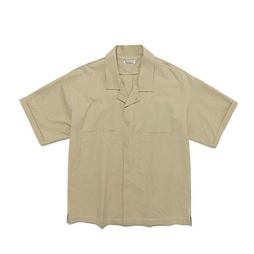 FAVORITE TWO POCKET SHIRTS IS [BEIGE]