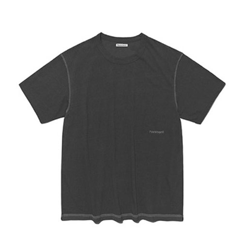 TURN OVER SHORT SLEEVE IS [BLACK]
