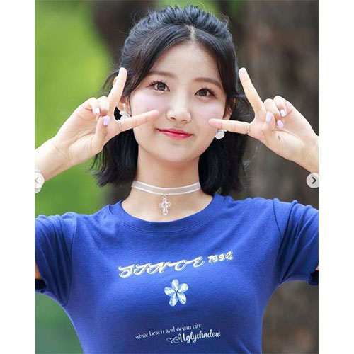 [세러데이-주연착용]WHITE BEACH CROP TOP(NAVY)