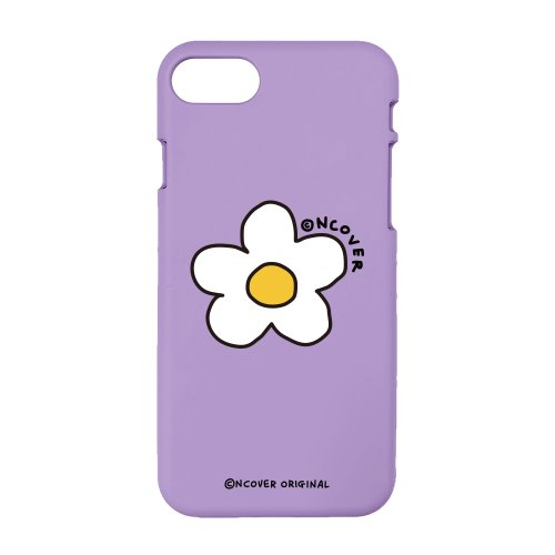 Flower point-purple(color jelly case)
