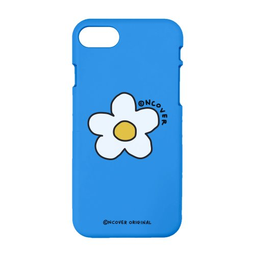 Flower point-blue(color jelly case)