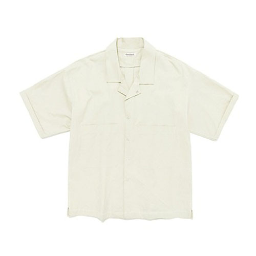 FAVORITE TWO POCKET SHIRTS IS [WHITE]