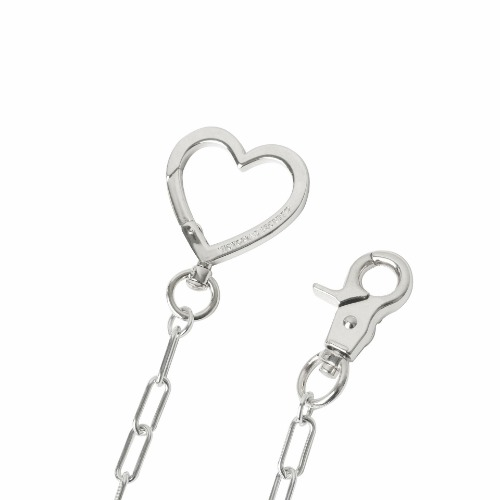 LOVE LOCK NECKLACE - SILVER