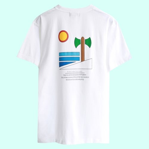 SANDY BEACH TSHIRT - WHITE