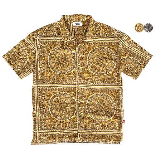 EXOTIC PAISLEY OPEN SHIRT(2color)(unisex)