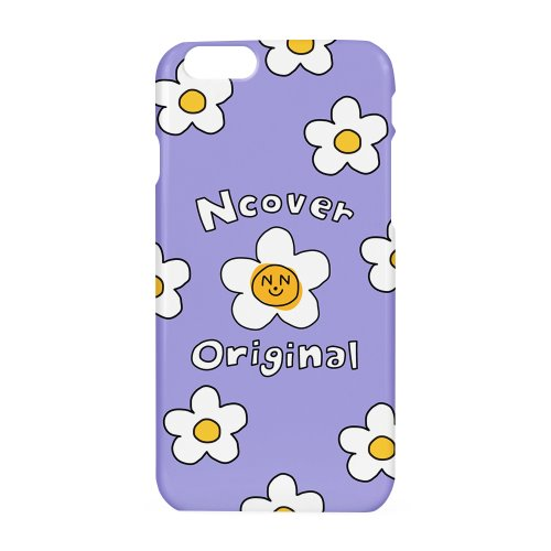 Smile flower case-lilac
