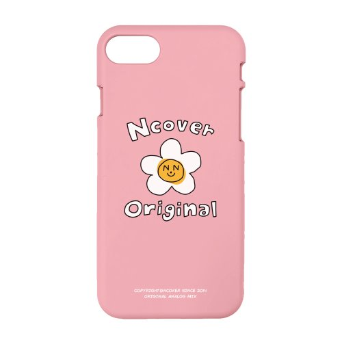 Flower graphic-pink(color jelly case)