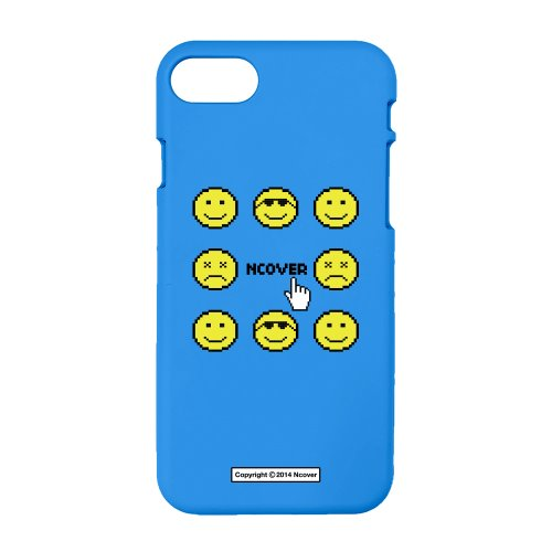 Smile face-blue(color jelly case)