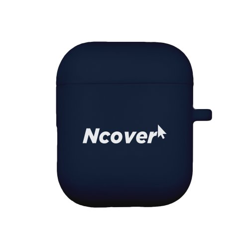 Cursor logo-navy(airpod case)