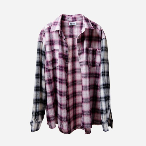 PURPLE FLANNEL SHIRT