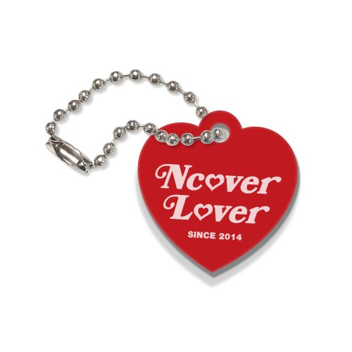 Heart lover-red(key ring)