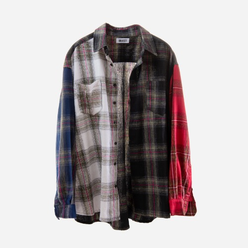 MIX FLANNEL SHIRT