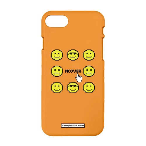 Smile face-orange(color jelly case)