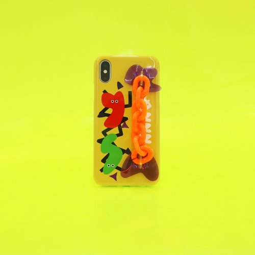 SUN CASE NEON CHAIN YELLOW