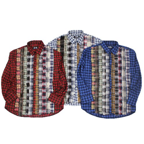 RIBBON CHECK SHIRT - 3COLOR