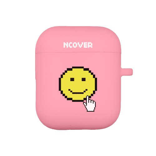 Smile cursor-pink(airpod case)