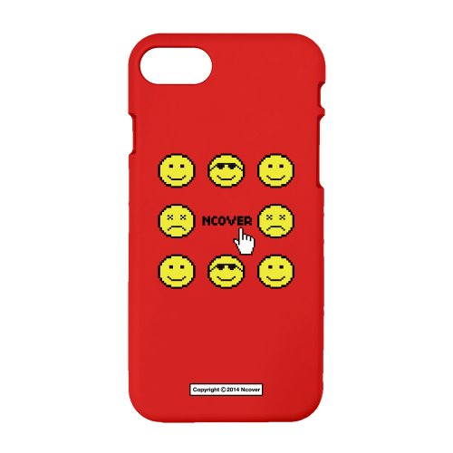 Smile face-red(color jelly case)