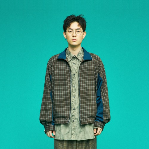 OVERSIZE CHECK JUMPER (BROWN)