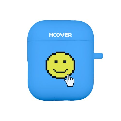 Smile cursor-blue(airpod case)