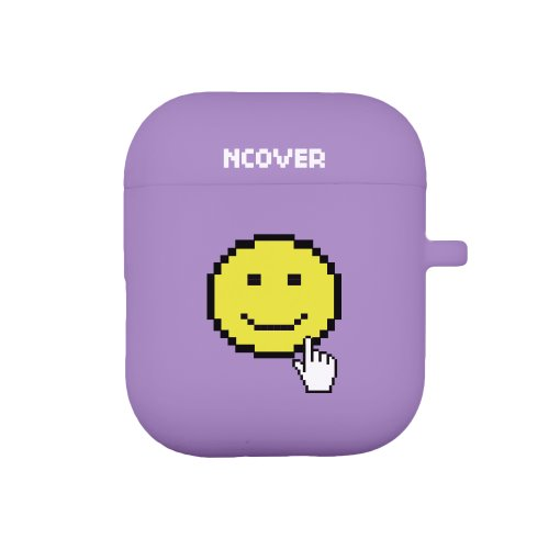 Smile cursor-purple(airpod case)
