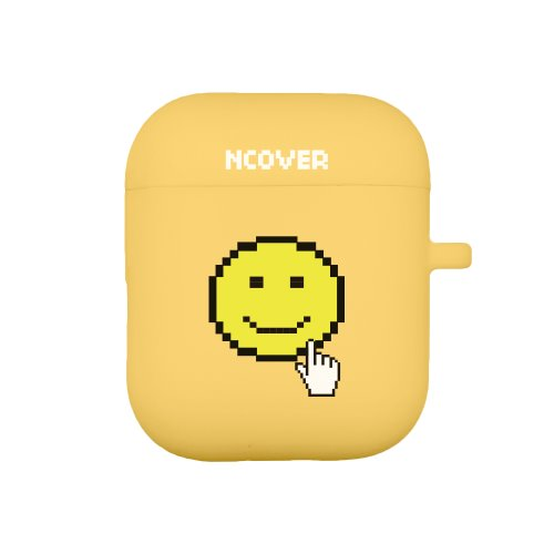 Smile cursor-yellow(airpod case)
