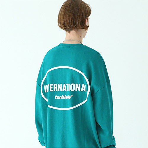 international sweat shirt dark-beach