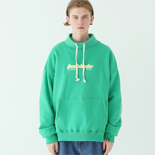 outdoor gothic logo pullover green
