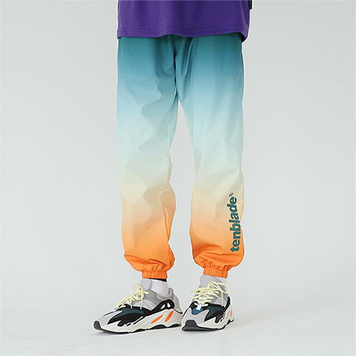 gradation track pants orange