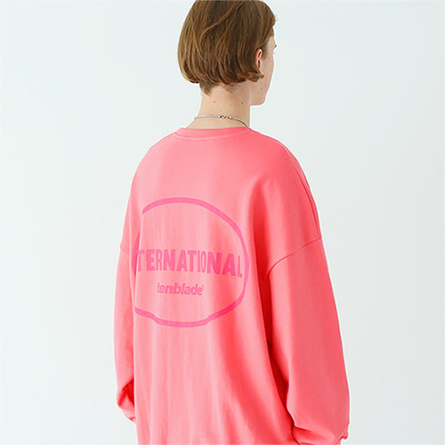 international sweat shirt pink