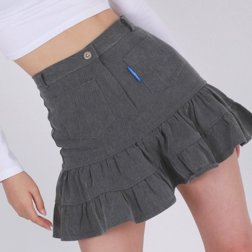 RETRO SKIRT(BLACK)
