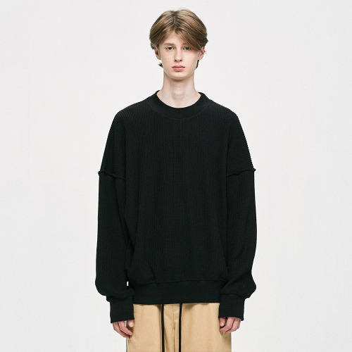 Oversized Sweater - Black