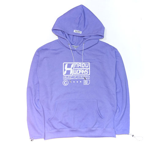 PIGMENT WASHED HOODIE - PURPLE
