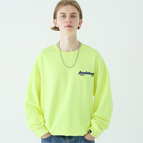 edge laser sweat shirt neon