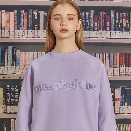 MG9F RAGLAN EMBROIDERY MTM (LIGHT PURPLE)