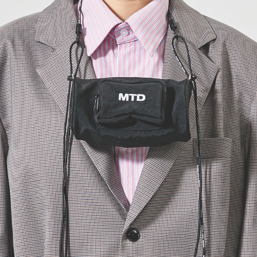 MINI DUFFLE BAG - BLACK