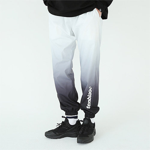 gradation track pants black
