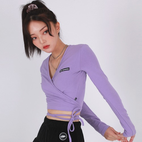 RAB CROP TOP(PURPLE)