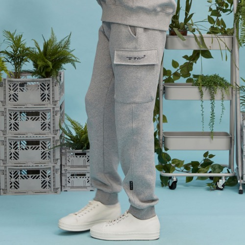 RC pocket jogger pants (gray)