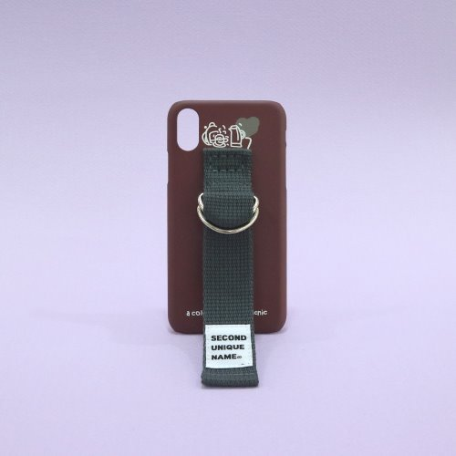 SUN CASE SMOKE BROWN DEEP GRAY (ILLUST)