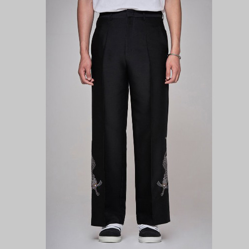 Haetae wool slik pants