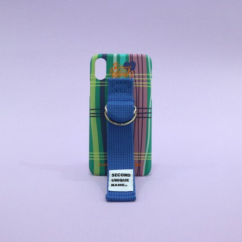 SUN CASE HOLLY GREEN RIVER BLUE (PATTERN)