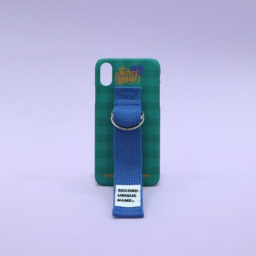 SUN CASE HOLLY GREEN RIVER BLUE (CHECK)